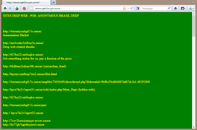 Deep Web: Portal Brasileiro
