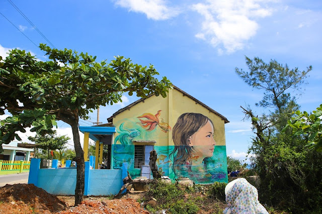Tam Thanh - the fishing village of murals 2