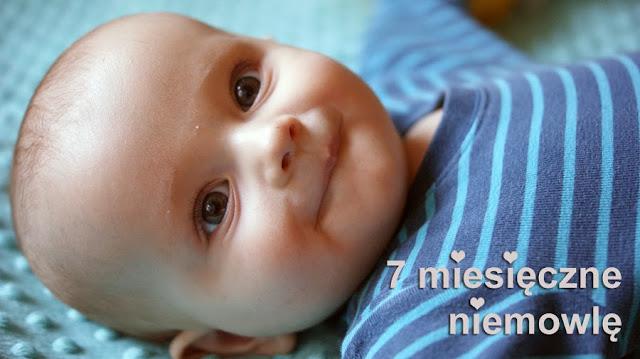 7 miesieczne niemowle