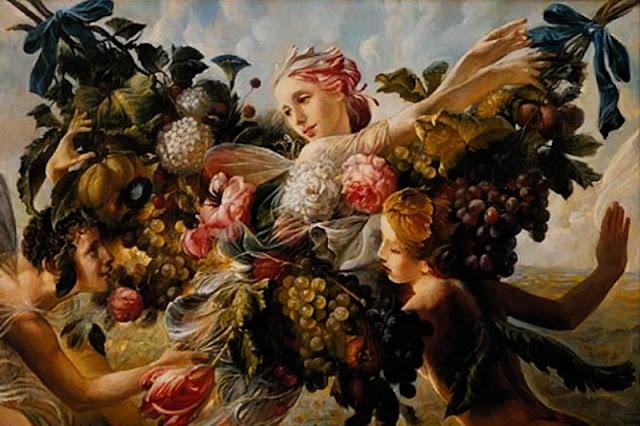 Paintings by Russian Artist Elena Flerova