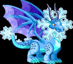 Dragón Copo de Nieve (Adulto)