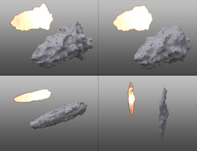 3D Muzzle Flash Effects