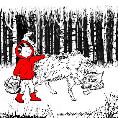 Red Meets The Wolf by Claire O'Brien