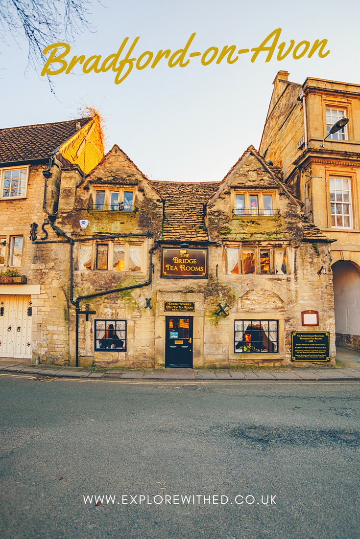 The Bridge Tea Rooms in Bradford-on-Avon, Wiltshire, England