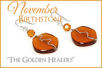 November Birthstone: The Golden Healers -Crystal Allure Beaded Jewelry Creations
