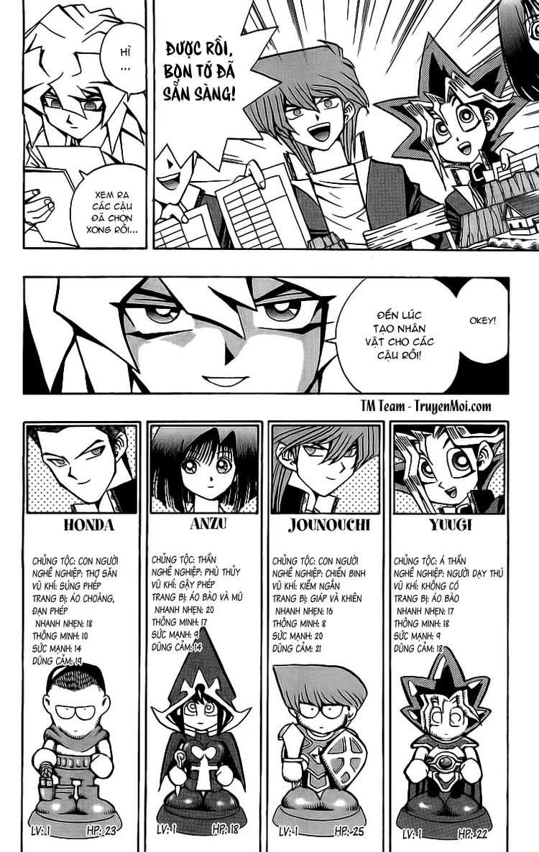 YUGI-OH! chap 51 - thế giới quái vật trang 8