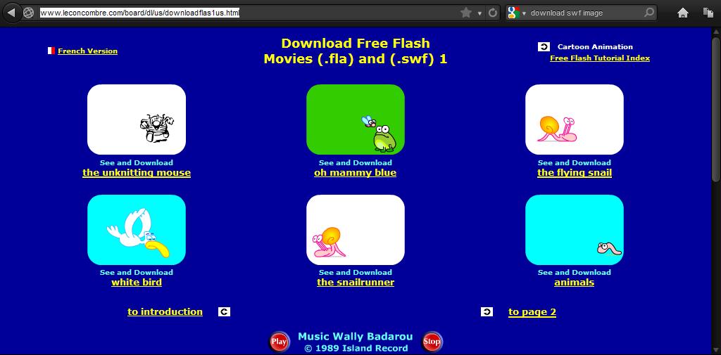 Cara Mengambil Game atau Gambar Flash (SWF) di Internet