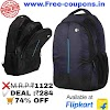 Flipkart Offers - HP Laptop Backpacks in Just ₹284 (Worth ₹1122)