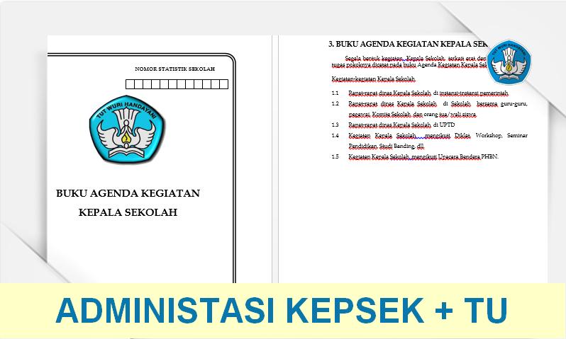 Administrasi TU dan Kepala Sekolah