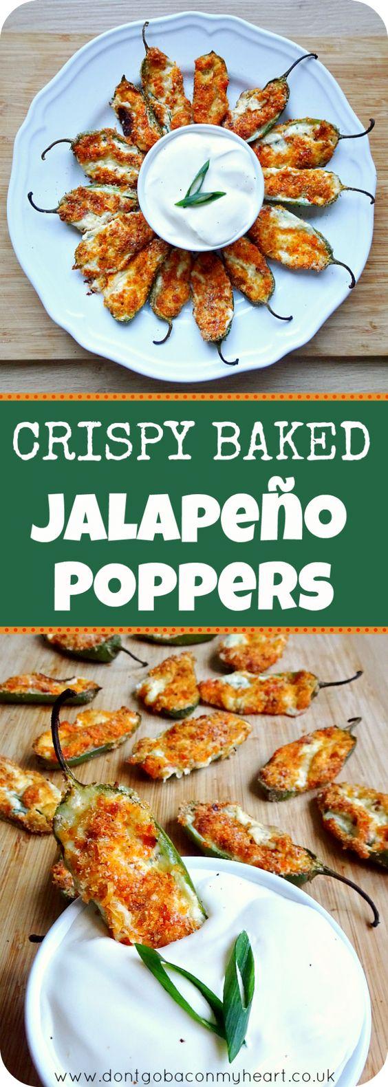 Crispy Baked Jalapeño Poppers