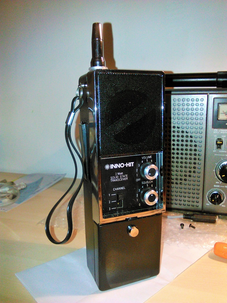 Radio Quaderno: Moving an old CB walkie-talkie to 29 MHz AM