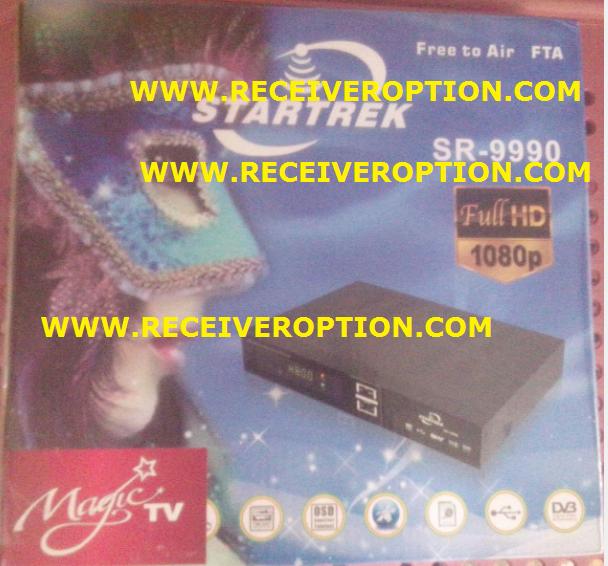 STARTREK SR-9990 HD RECEIVER CCCAM OPTION