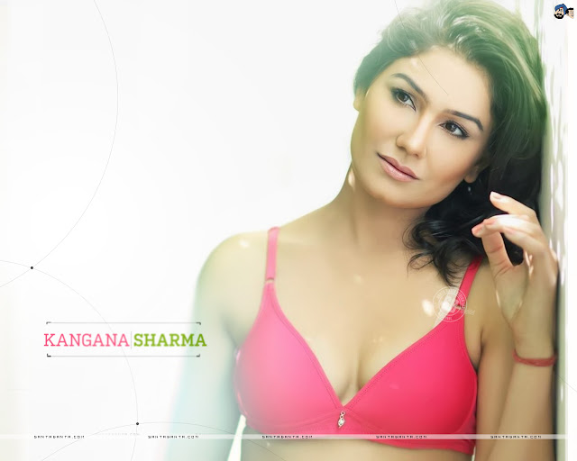 Kangna Sharma Hot Bikini Wallpaper