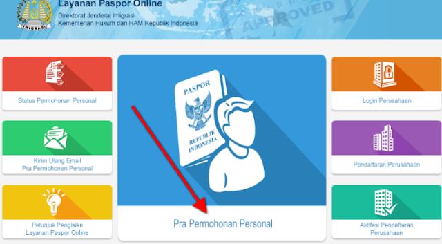 syarat pembuatan paspor 2019