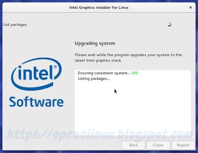 Instalando as atualizações dos drivers Intel