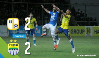 Barito Putera vs Persib Bandung 2-2 Video Gol Highlights