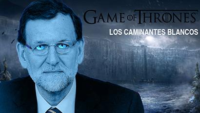 el villano arrinconado, humor, chistes, reir, satira, Juego de Tronos, Caminantes blanco, PP, Rajoy