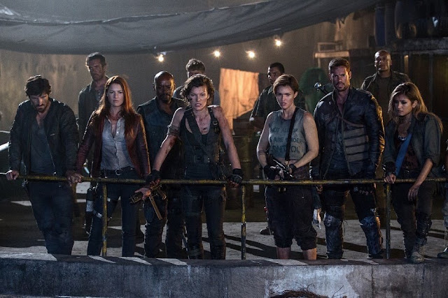 main cast Resident Evil : The Final Chapter [2017] Movie