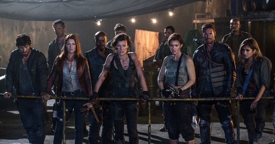Ruby Rose Joins Cast Of Resident Evil The Final Chapter: Resident Evil : The Final Chapter [2017] Movie