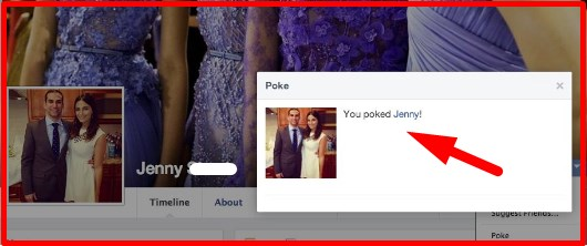 how to poke someone on facebook multiple times