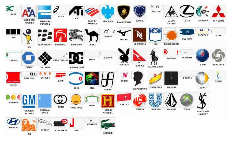 Logos Quiz Level 5 Answers - Logo Quiz Game Answers