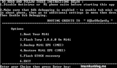 Cara Mudah Root HP Xiaomi Mi4i MIUI 7.3.1.0