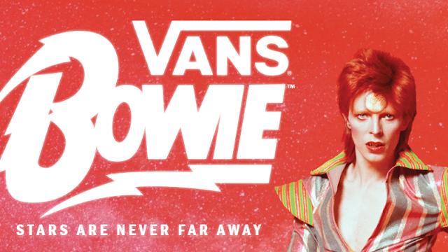 Vans estrena línea inspirada en David Bowie