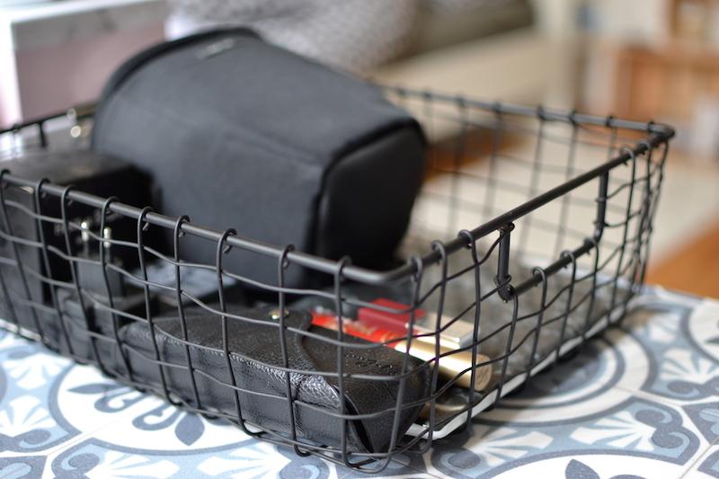 Panier grillagé noir - Pimkie