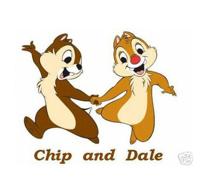 8 Cute Disney Animal Chip and Dale Wallpaper For Kids