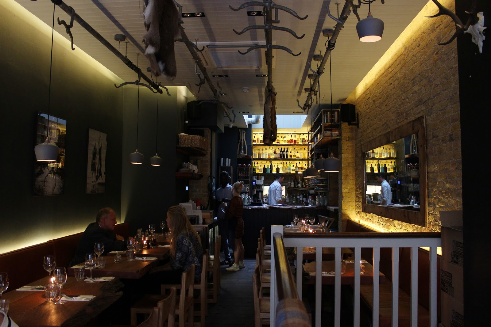 Mac and Wild restaurant review - interior