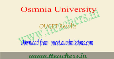 Manabadi OUCET results 2018, ou pgcet result date, counselling schedule