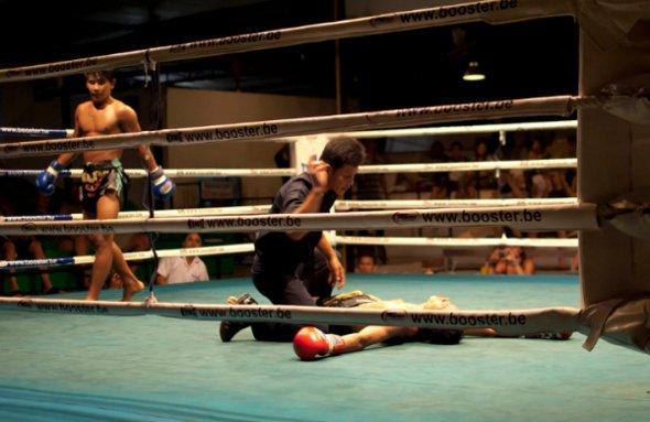 нокаут тайский бокс