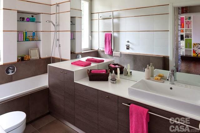 Pequeno apartamento 40 m² coloridíssimo e espaço bem aproveitado. Blog Achados de Decoração