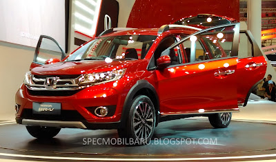 Honda BR-V Warna Passion Red Pearl