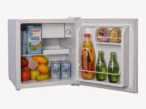 elettrodomestici sirge frigorifero 46 litri con ghiacciaia classe a frigobar frigo 41 litri. Black Bedroom Furniture Sets. Home Design Ideas