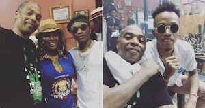 Video of Femi Kuti, Wizkid and Tekno At Felabration… Plus Wizkid's performance