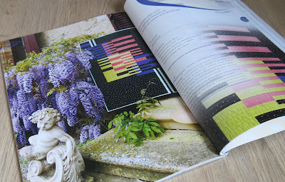 Luna Lovequilts - Neon quilt - France Patchwork magazine