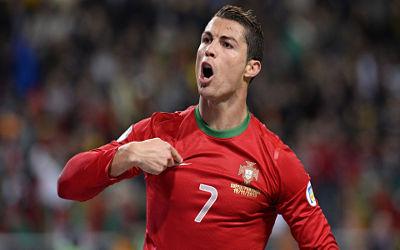 Cristiano Ronaldo Portugal CR7 - Fond d'écran en Full HD 1080p
