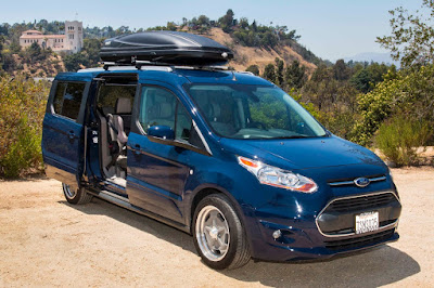Ford Transit Connect Wagon Offers Versatility and Flexibility
