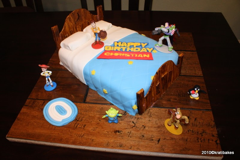 Baking And Caking For Beginners Toy Story Cake