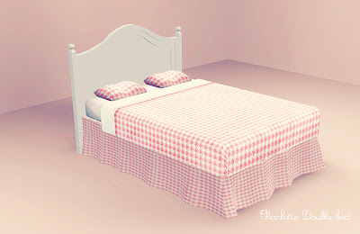 My Sims 3 Blog: Sleeping Beauty Set - Bed & Pillows ...