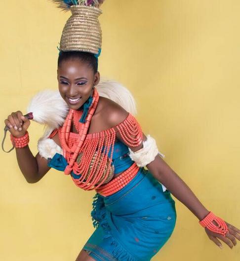 Where To Buy Fur Rug In Lagos: Beauty Queen Nome Adaku Lorrita Stuns In New Shoot As She