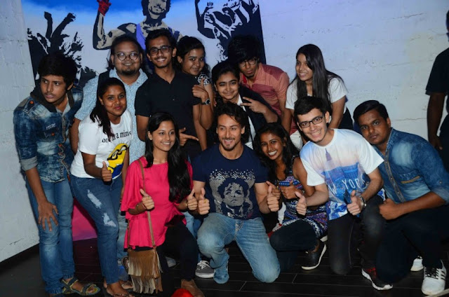 Tiger Shroff During Poster Launch of film Munna Michael