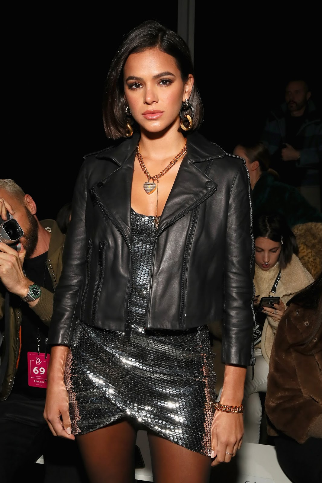 Bruna Marquezine - attends the Rosa Cha fashion show during NYFW in New York - 02/13/2019