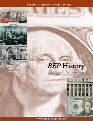 Cover of the booklet - BEP History