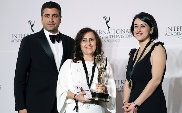 Turkish series Kara Sevda /Endless Love won an Emmy Award!
