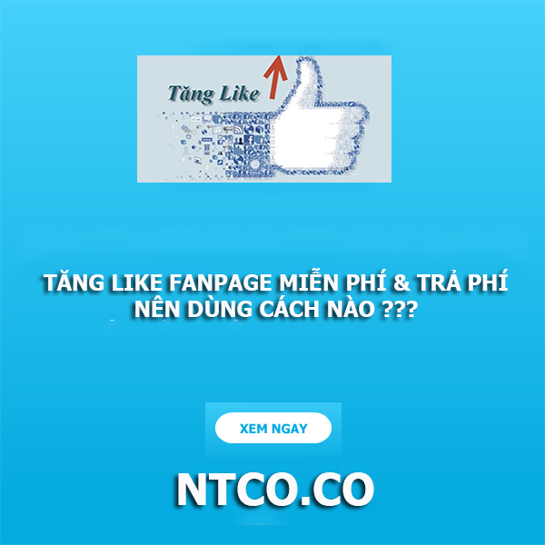 cach tang like fanpage tren facebook