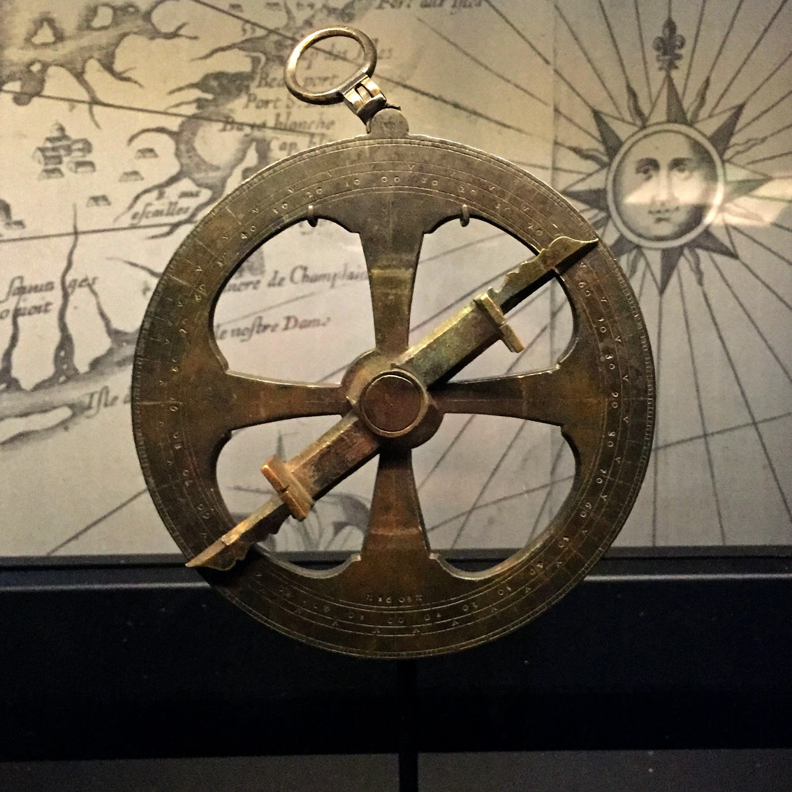 Astrolabe in the Canadian History Hall | kathleenhelen