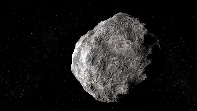 asteroide Faetonte - ilustração