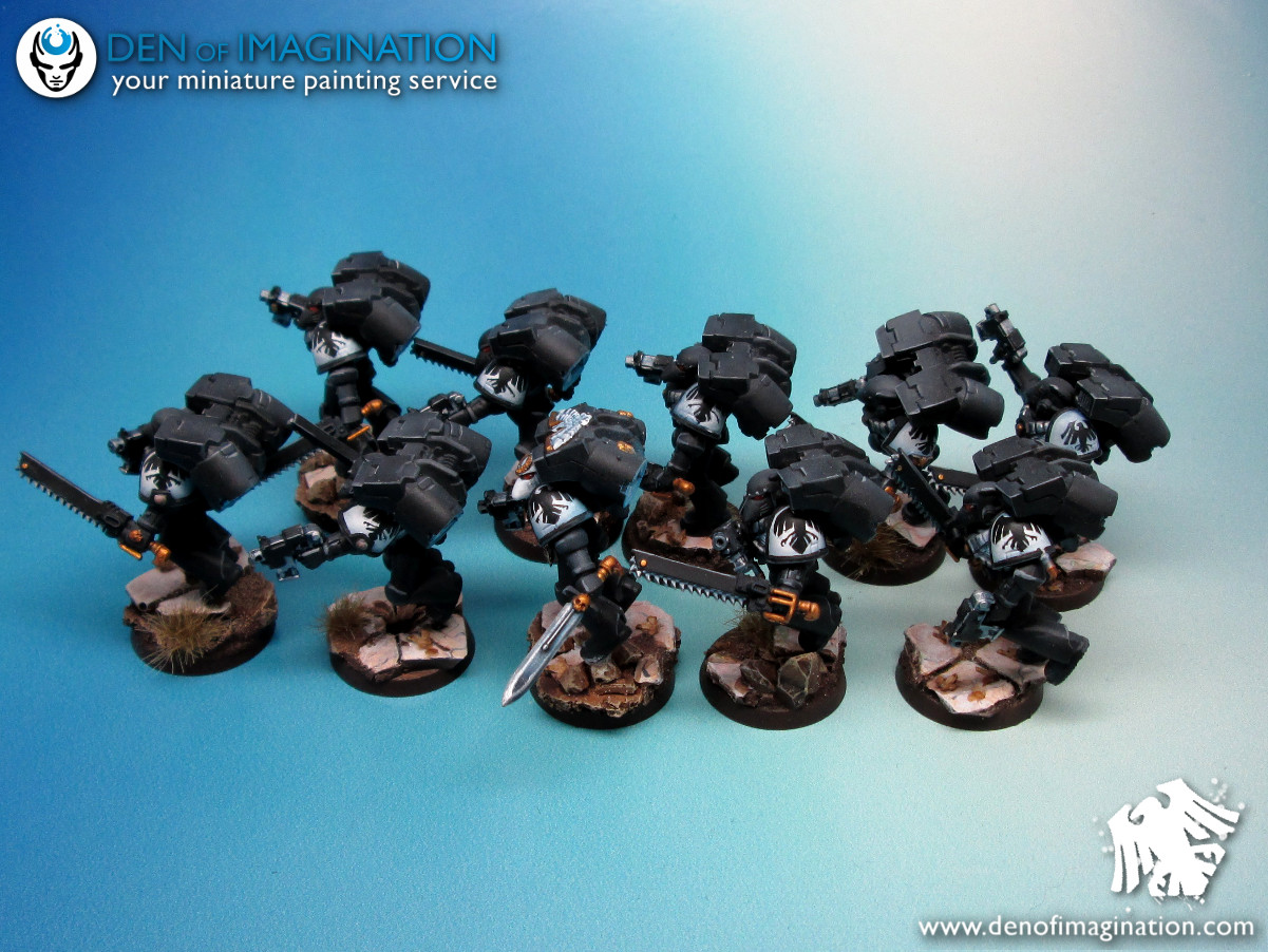 a9b9385972f Almost every one of them with some Forge World Bit's. But everyone with a  beak helmet. Really cool models.